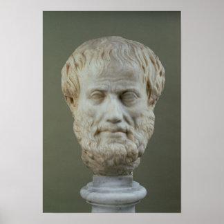 Cabeza de mármol de Aristóteles Impresiones