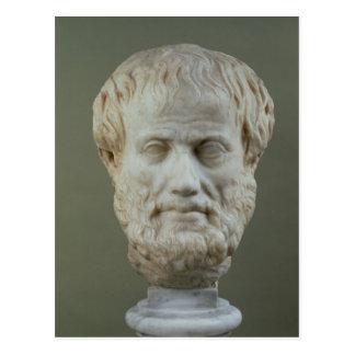 Cabeza de mármol de Aristóteles Postal