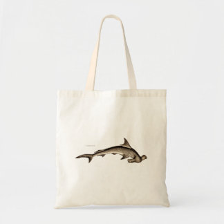 Cabeza de martillo del tiburón de Hammerhead de Bolsas De Mano
