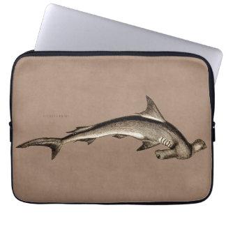 Cabeza de martillo del tiburón de Hammerhead de lo Mangas Portátiles