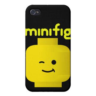CABEZA DE MINIFIG iPhone 4/4S FUNDA
