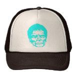 Cabeza de neón del zombi gorra