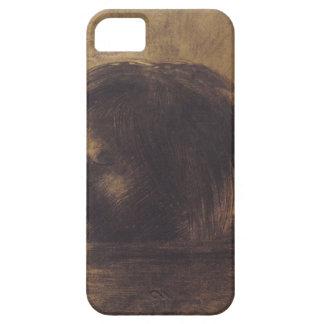 Cabeza de Odilon Redon- de Orfeo en el agua iPhone 5 Case-Mate Protector