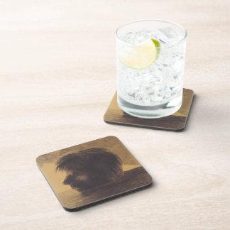 Cabeza de Odilon Redon- de Orfeo en el agua Posavasos De Bebida