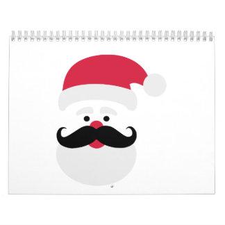 Cabeza de Papá Noel Calendario