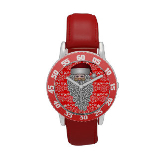 Cabeza de Papá Noel Relojes