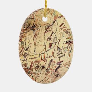 Cabeza de Pavel Filonov- Ornamento De Navidad