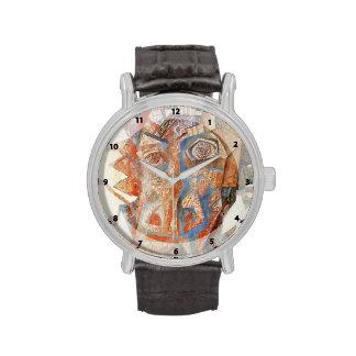 Cabeza de Pavel Filonov- Reloj