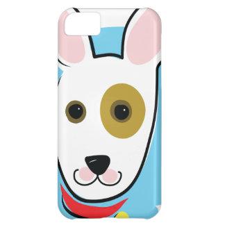 Cabeza de perro funda para iPhone 5C