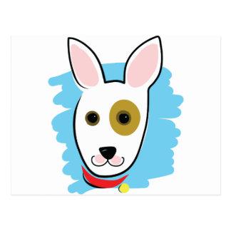 Cabeza de perro postal