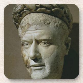 Cabeza de Philip el emperador árabe, romano (244-2 Posavaso