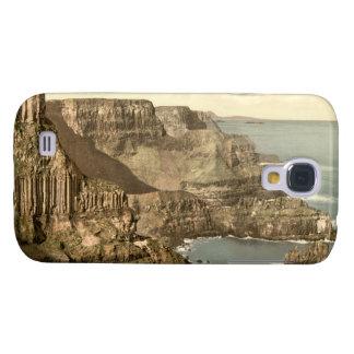 Cabeza de Pleaskin, el terraplén del gigante, cond Funda Para Samsung Galaxy S4