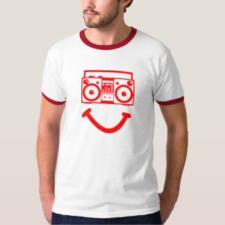 Cabeza de radio (roja) playeras