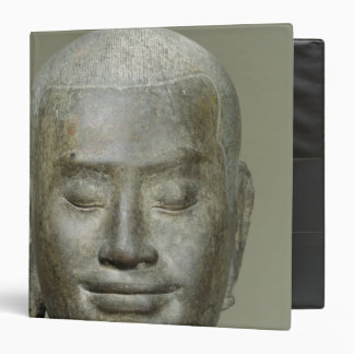 "Cabeza de rey Jayavarman VII Carpeta 1 1/2"""