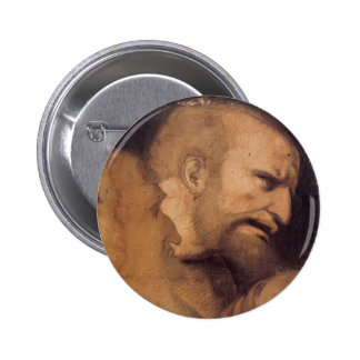 Cabeza de San Pedro de Leonardo da Vinci Pins