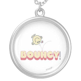 Cabeza de Sr. Bounce Bouncing On His Colgante Redondo