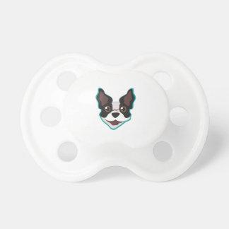 Cabeza de Terrier Chupete De Bebe