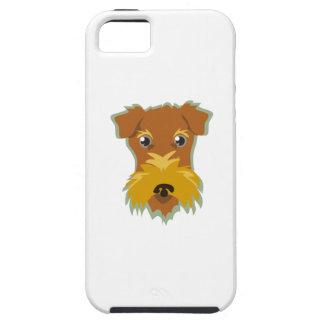 Cabeza de Terrier iPhone 5 Fundas