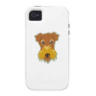 Cabeza de Terrier iPhone 4/4S Carcasa