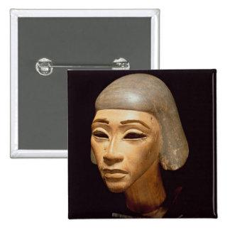 Cabeza de un arpista, de diga EL-Amarna, c.1370-13 Pin Cuadrado