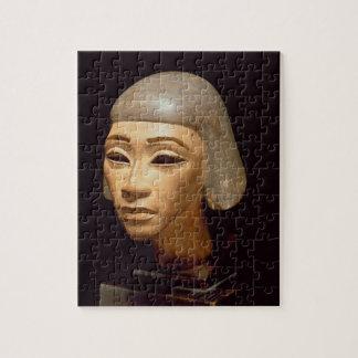 Cabeza de un arpista, de diga EL-Amarna, c.1370-13 Puzzles Con Fotos