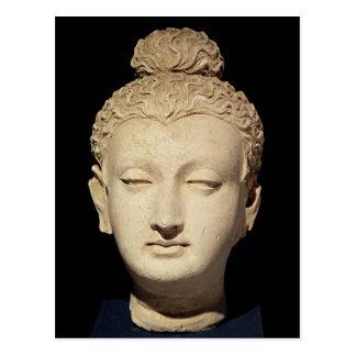 Cabeza de un Buda, estilo Greco-Budista Postal