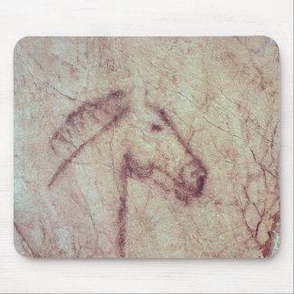 Cabeza de un caballo, del Cueva de la Pena Alfombrillas De Raton