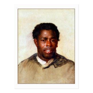 Cabeza de un hombre de John Singleton Copley Tarjetas Postales