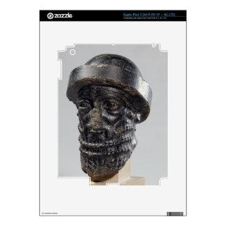 Cabeza de un rey, posiblemente Hammurabi, rey de B iPad 3 Skin