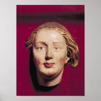 Cabeza de un santo, c.1520 póster