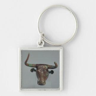 Cabeza de un toro, con la inscripción sumeria real llavero