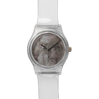 Cabeza de un viejo hombre de Albrecht Durer Relojes De Mano