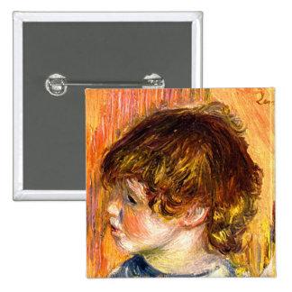 Cabeza de una chica joven de Pedro Renoir Pin