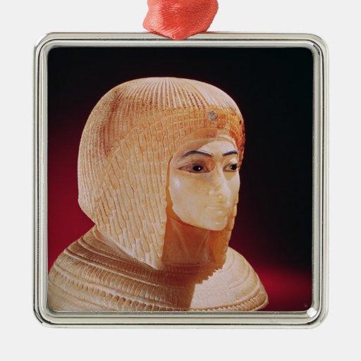 Cabeza de una mujer, creída ser princesa Kiya Ornamentos De Navidad