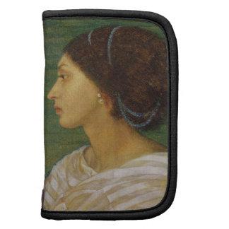 Cabeza de una mujer del mulato, 1861 (el aceite en organizador