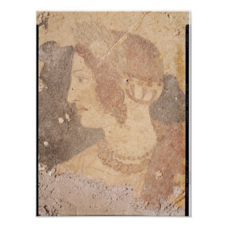 Cabeza de una mujer joven, Velia Póster