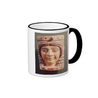 Cabeza de una mujer, llamada la señora del pozo taza