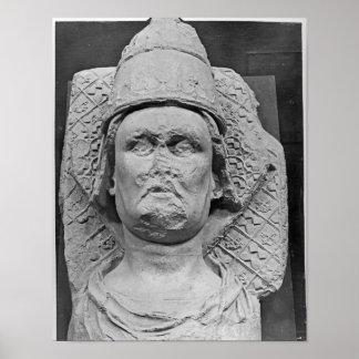 Cabeza del antipapa Clemente VII Póster