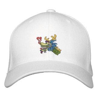 Cabeza del barco del dragón gorra de beisbol