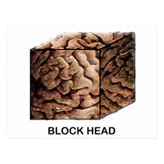 Cabeza del bloque postal