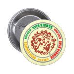 CABEZA del BOMBARDERO - RASTA (botón) Pin