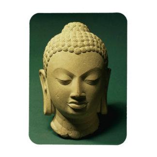 Cabeza del Buda, Sarnath (piedra arenisca) Imán