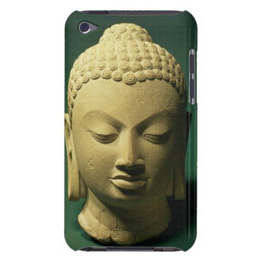 Cabeza del Buda, Sarnath (piedra arenisca) iPod Case-Mate Fundas