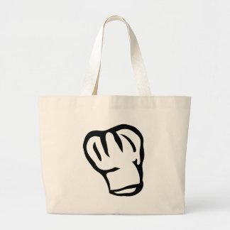 cabeza del cocinero del chef de los cocineros bolsas de mano