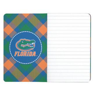 Cabeza del cocodrilo de la Florida a todo color Cuadernos