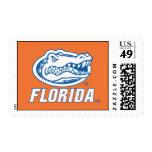 Cabeza del cocodrilo de la Florida - azul y blanco Envio