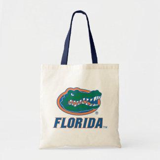 Cabeza del cocodrilo de la Florida Bolsa Tela Barata