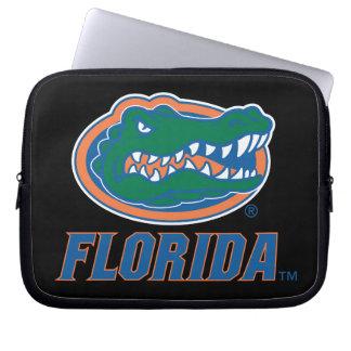 Cabeza del cocodrilo de la Florida - color Fundas Computadoras