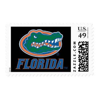 Cabeza del cocodrilo de la Florida Estampillas
