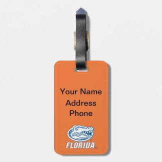 Cabeza del cocodrilo de la Florida Etiquetas Maleta